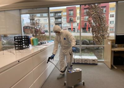 Sanitization Cleaning for Model Home