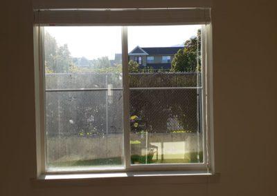 Windows cleaning - um lado sujo e o outro limpo
