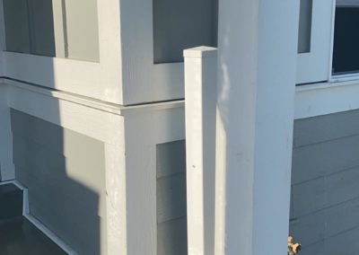 Power washing for home post construction